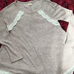 hollister xs long sleeve tunic